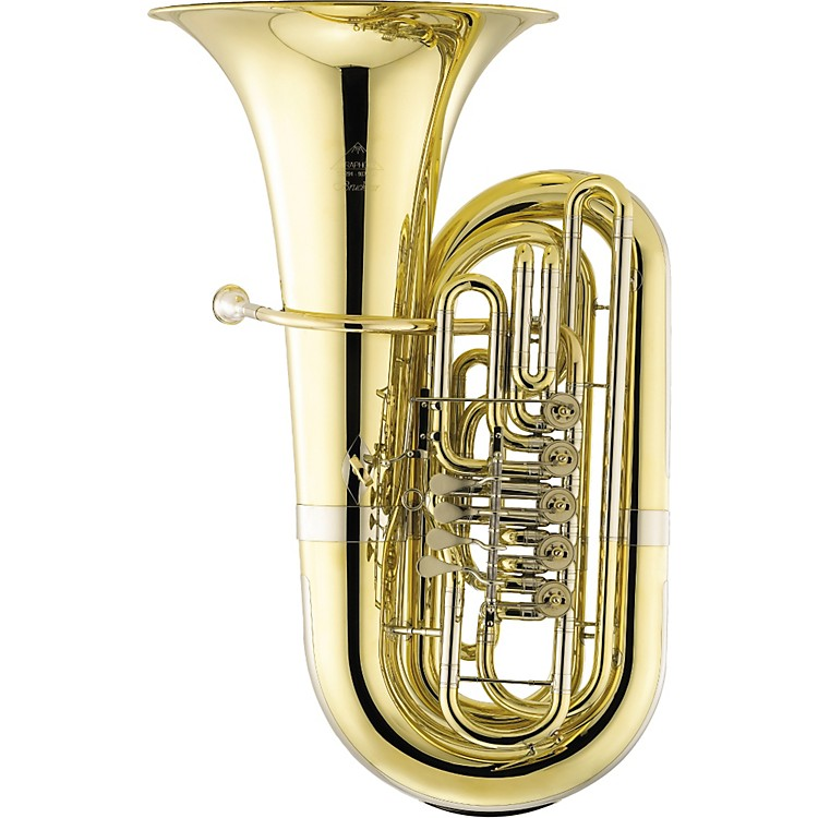 Miraphone291 Bruckner Series 5-Valve 5/4 CC Tuba291-5VCSSilver