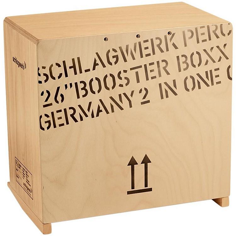SCHLAGWERK2inOne Bass CajonBooster Boxx