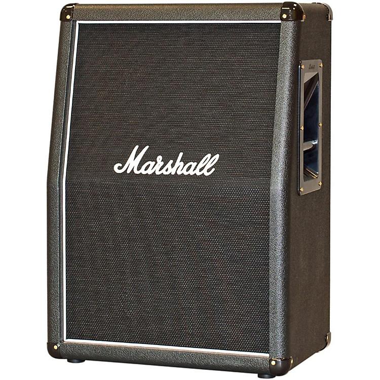 Marshall2x12 Vertical Slant Guitar CabinetBlack