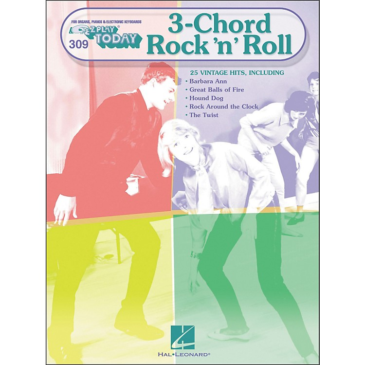 Hal Leonard 3-Chord Rock 'N' Roll E-Z play 309