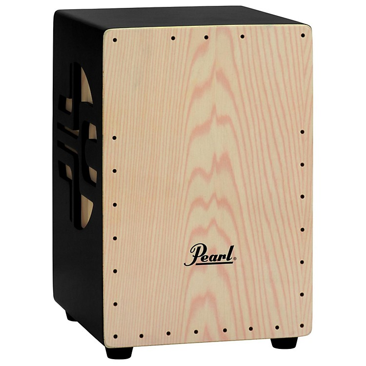 Pearl 3-D Cajon  Black/Natural