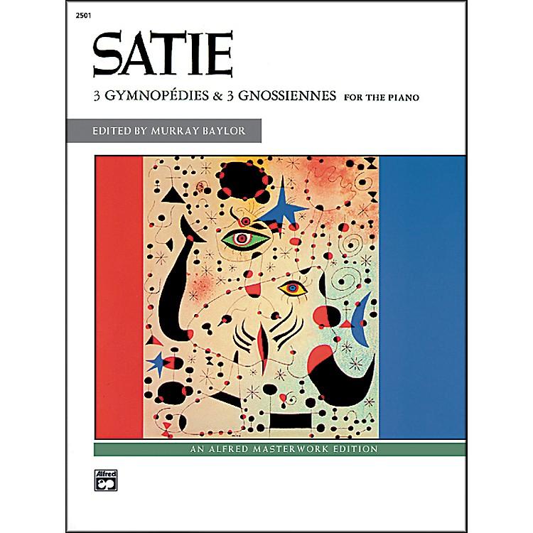 Alfred3 Gymnopdies & 3 Gnossiennes Book
