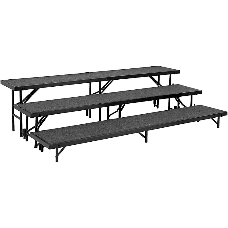 National Public Seating3 Level Straight Standing Choral Riser (18