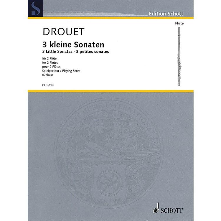 Hal Leonard3 Little Sonatas (Performance Score) Schott Series Softcover Composed by Louis Drouet