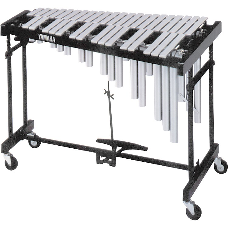 Yamaha3-Octave Standard Silver Vibraphone with Cover