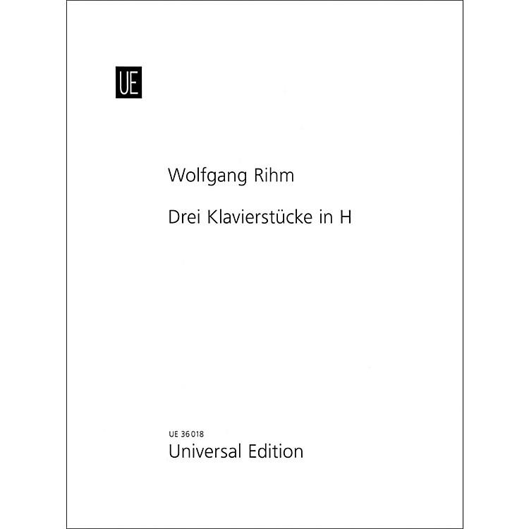 Carl Fischer3 Piano Pieces In B Book