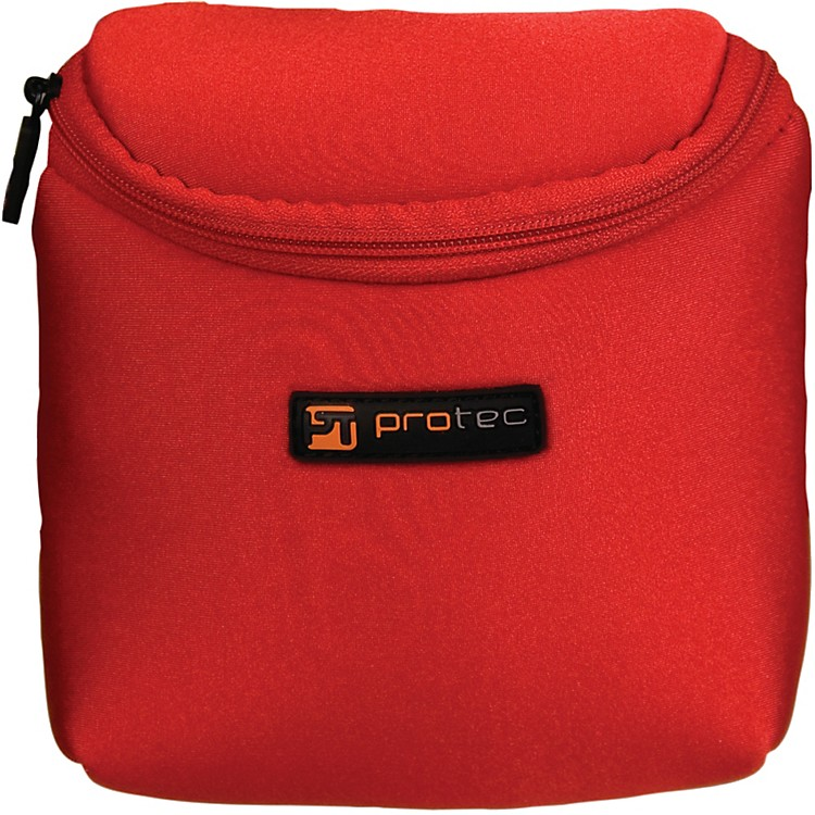 Protec 3 Piece Tuba/Tenor Saxophone Neoprene Mouthpiece Pouch Red