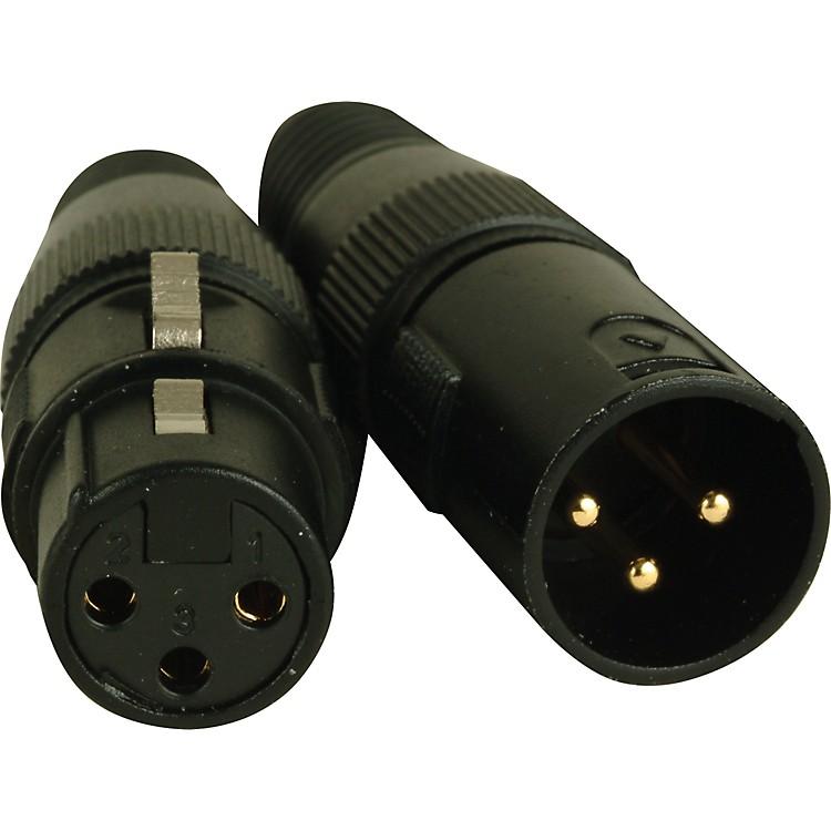 American DJ3-Pin Male - Female XLR Connectors