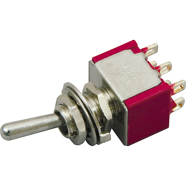 DiMarzio 3-Position On/Off/On DPDT Mini Switch