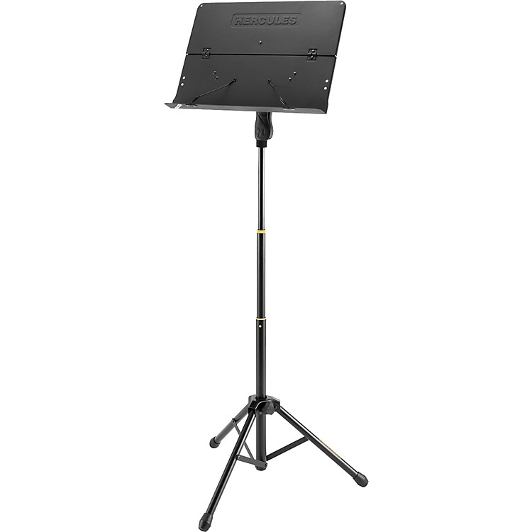 Hercules Stands 3- Section Orchestra Stand Folding Desk with page retainers