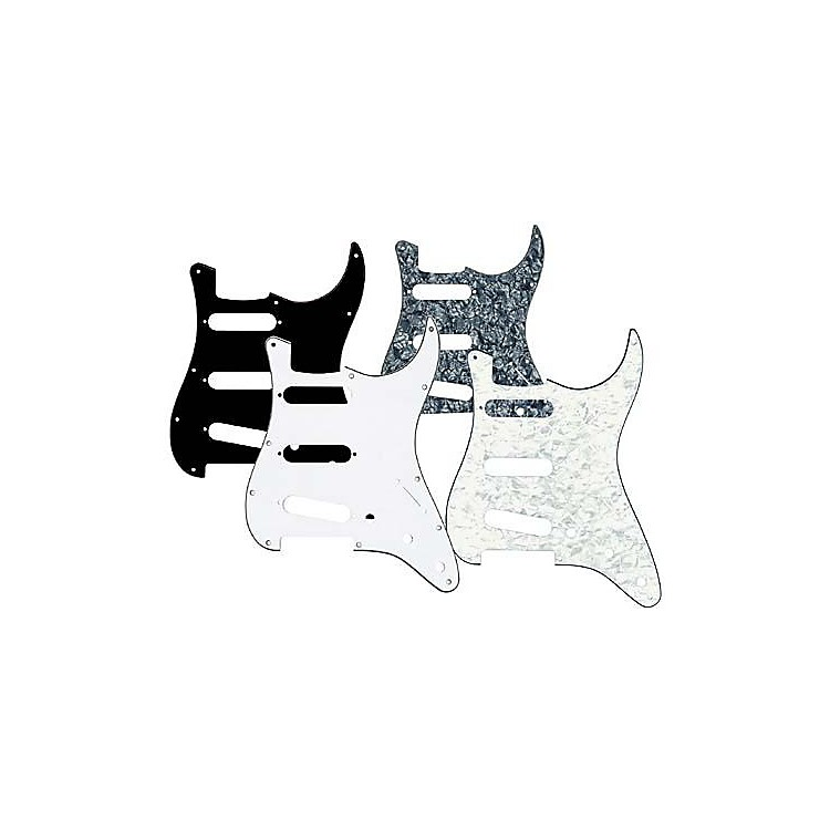 Musician's Gear 3 Single-Coil Pickguard White Pearloid