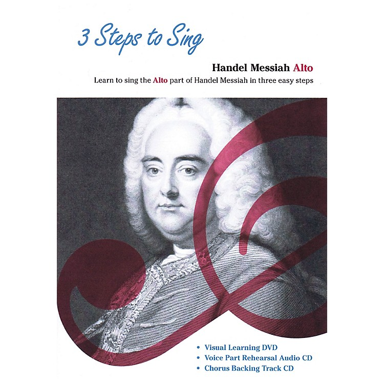 Music Sales 3 Steps to Sing Handel Messiah Alto Composed by Georg Frideric Handel