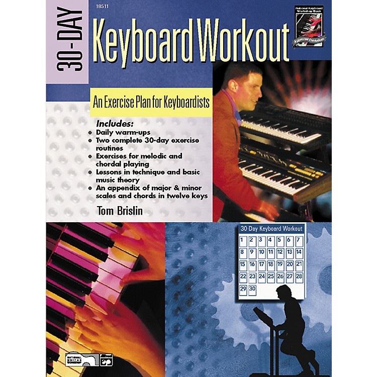 Alfred30-Day Keyboard Workout Book