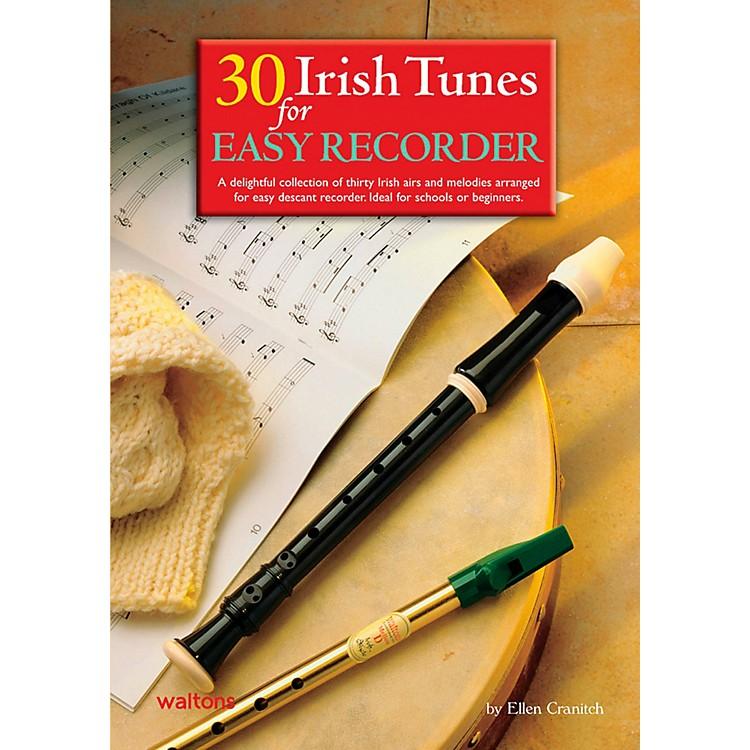 Waltons30 Irish Tunes For Easy Recorder Book