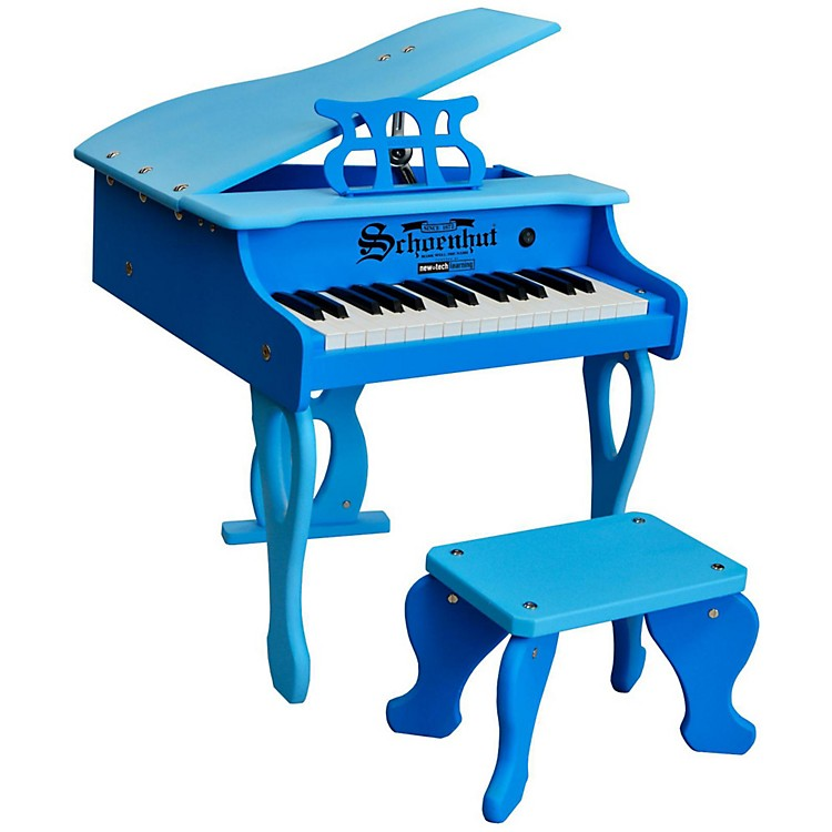 Schoenhut 30-Key 2 Tone Baby Grand Blue