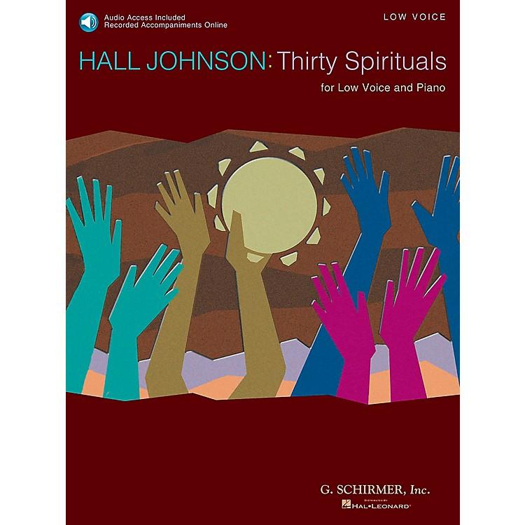 G. Schirmer30 Spirituals for Low Voice Book/CD