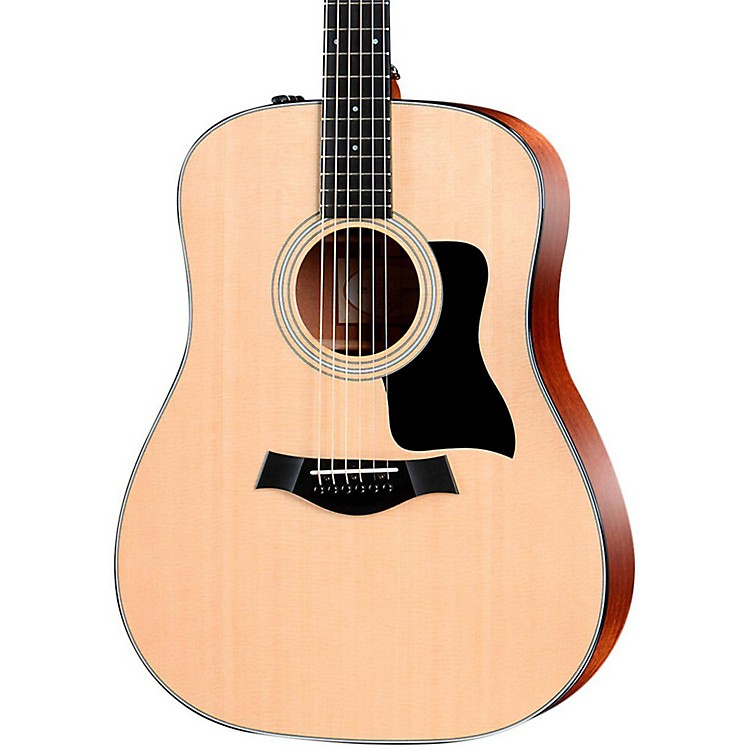 Taylor300 Series 310e Dreadnought Acoustic-Electric GuitarNatural