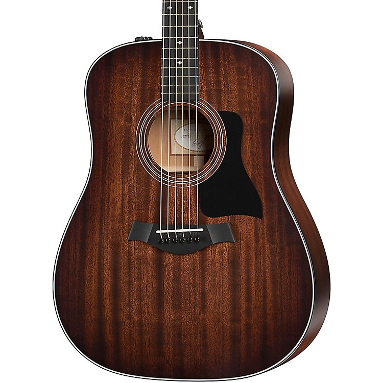 Taylor 300 Series 320e-SEB Dreadnought Acoustic-Electric Guitar Shaded Edge Burst
