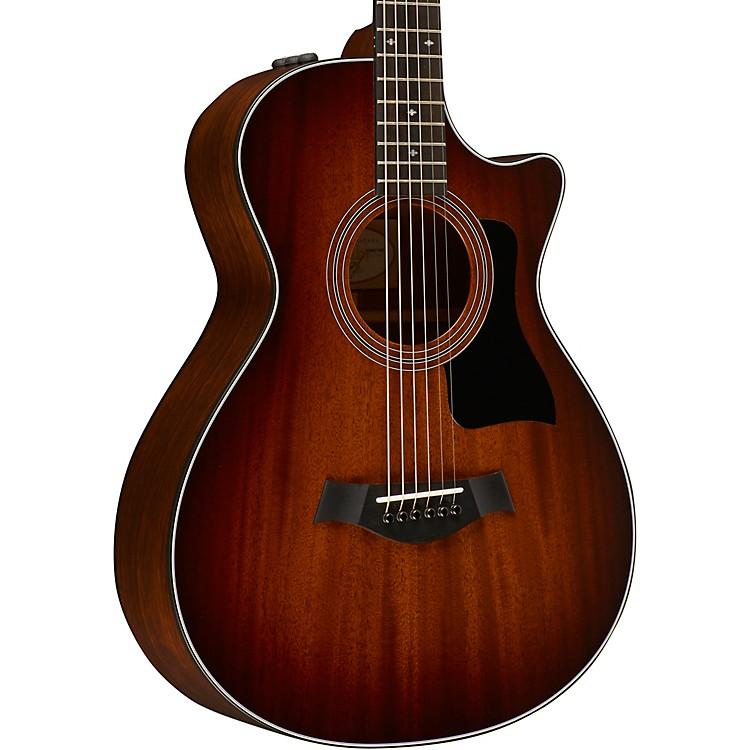 Taylor300 Series 322ce 12-Fret Grand Concert Acoustic-Electric GuitarShaded Edge Burst