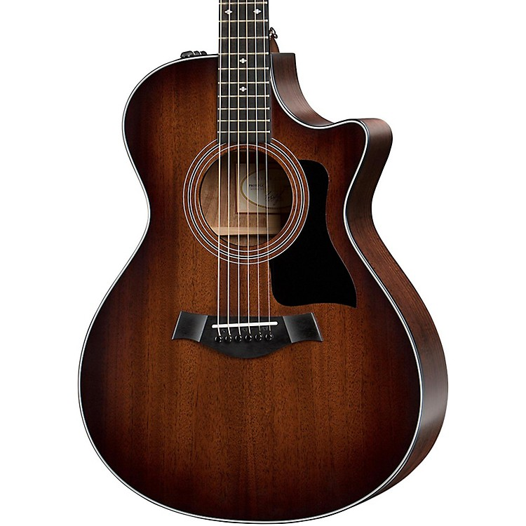 Taylor 300 Series 322ce Grand Concert Acoustic-Electric Guitar Shaded Edge Burst