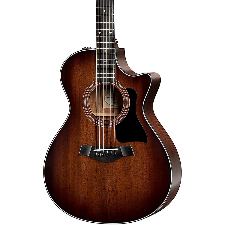 Taylor300 Series 322ce Grand Concert Acoustic-Electric GuitarShaded Edge Burst