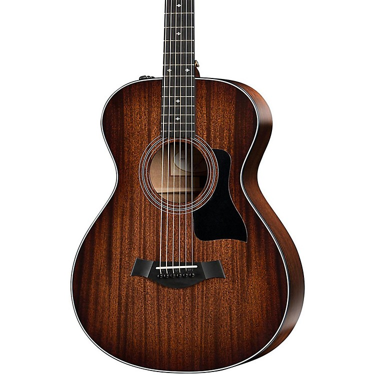 Taylor300 Series 322e 12-Fret-SEB Grand Concert Acoustic-Electric GuitarShaded Edge Burst
