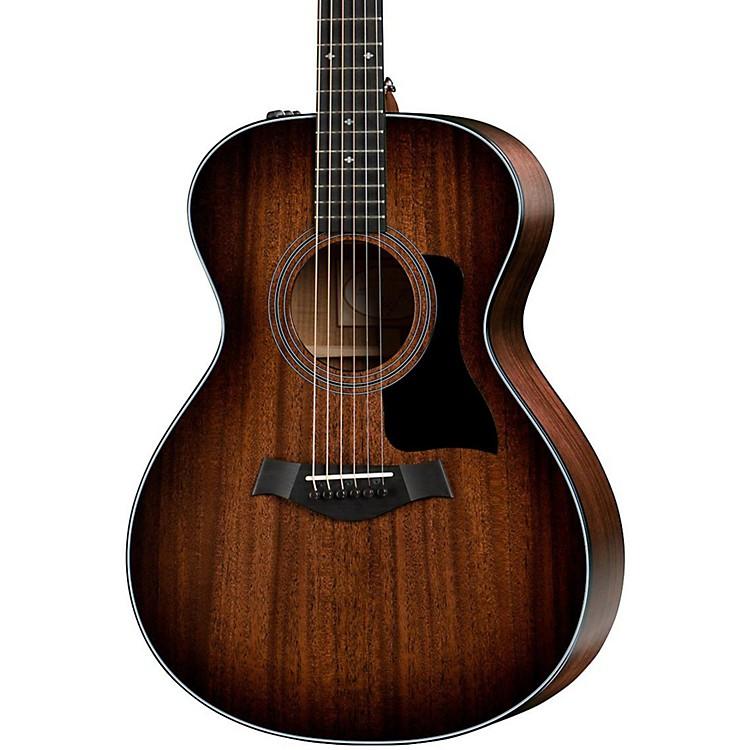 Taylor300 Series 322e SEB Grand Concert Acoustic-Electric GuitarShaded Edge Burst