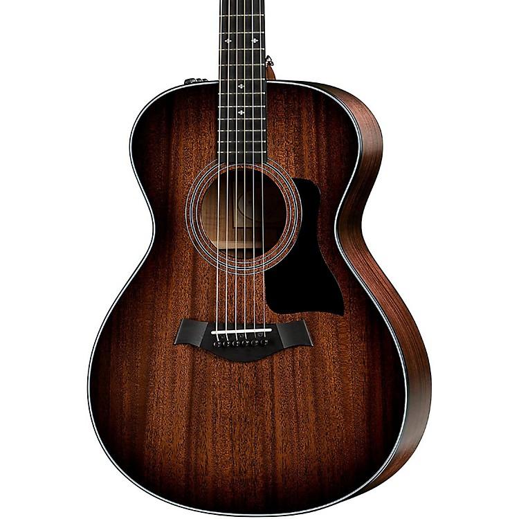 Taylor300 Series 322e-SEB Grand Concert Acoustic-Electric GuitarShaded Edge Burst
