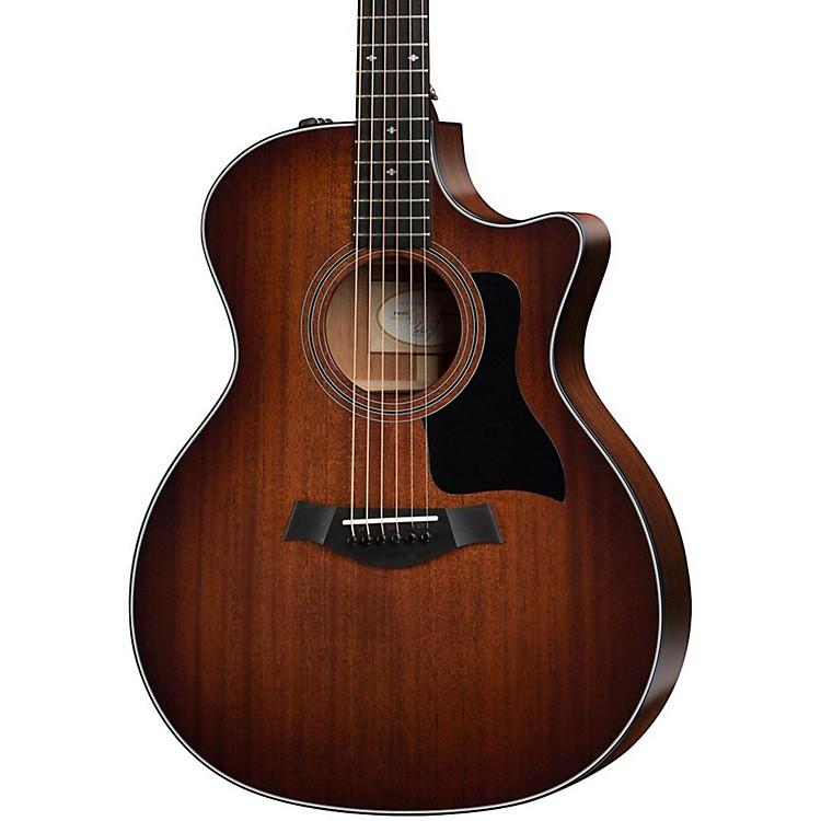 Taylor300 Series 324ce Grand Auditorium Acoustic-Electric GuitarShaded Edge Burst