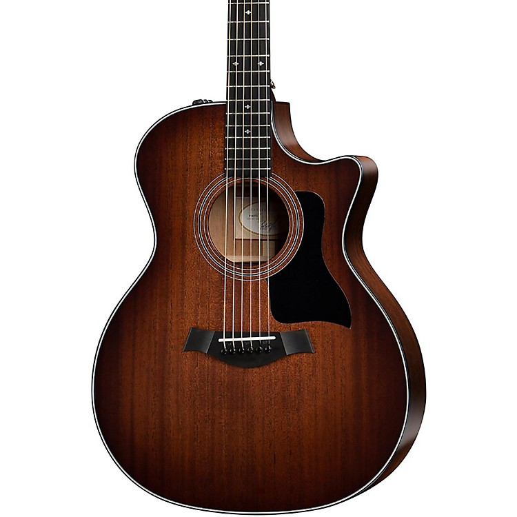 Taylor 300 Series 324ce-SEB Grand Auditorium Acoustic-Electric Guitar Shaded Edge Burst
