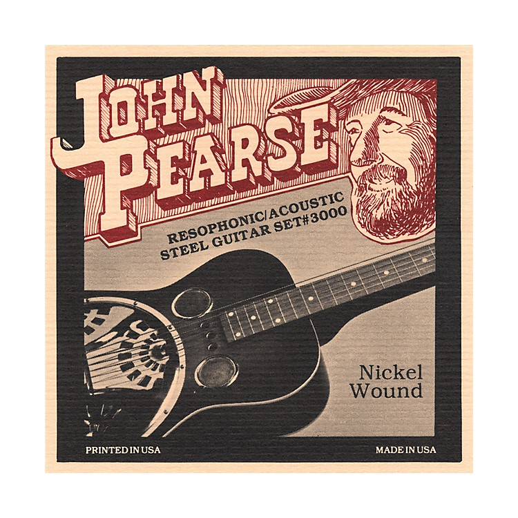 John Pearse 3000 Resophonic Strings