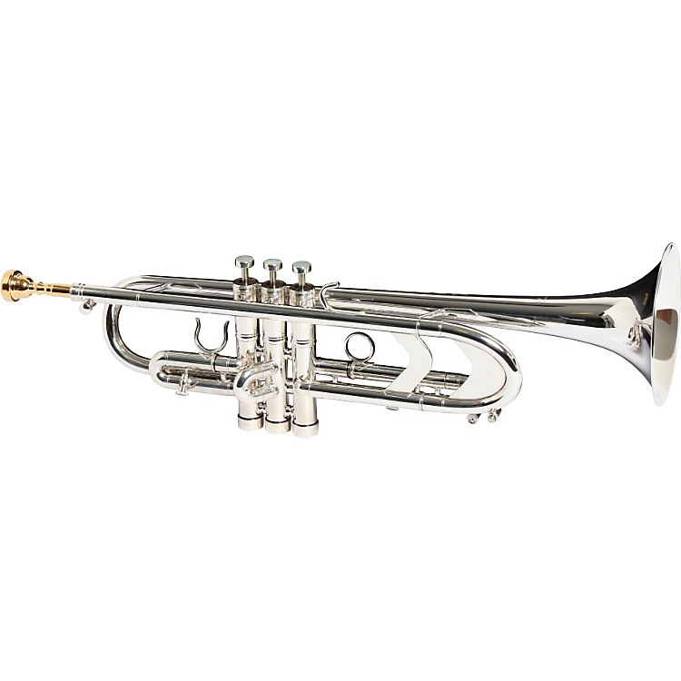 Getzen3003 Genesis Custom Series Bb TrumpetSilver3003S Silver