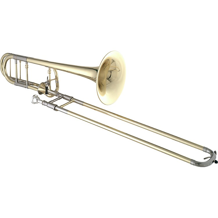 Getzen 3047AF Custom Series F Attachment Trombone Lacquer Yellow Brass Bell