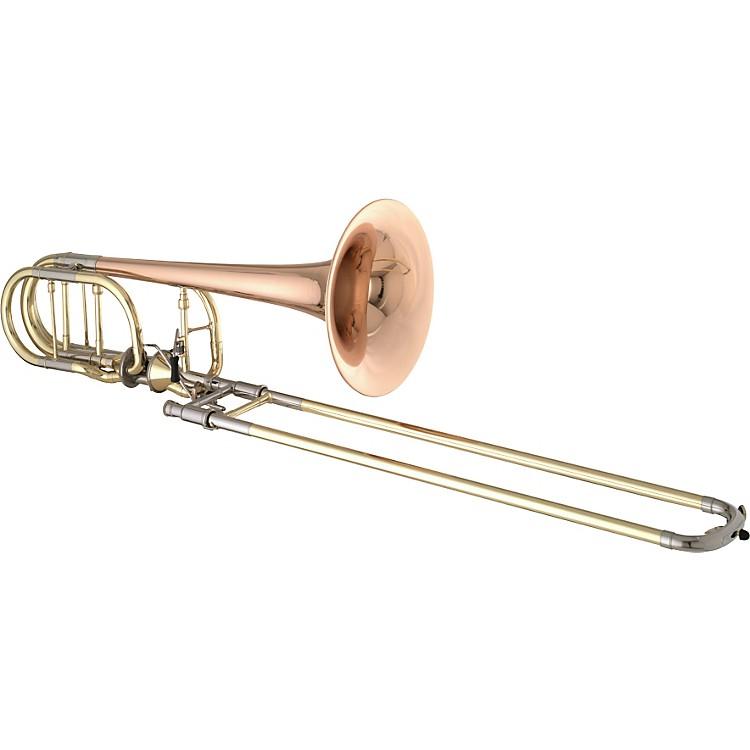Getzen3062AF Custom Series Bass Trombone3062AFR LacquerRed Brass Bell