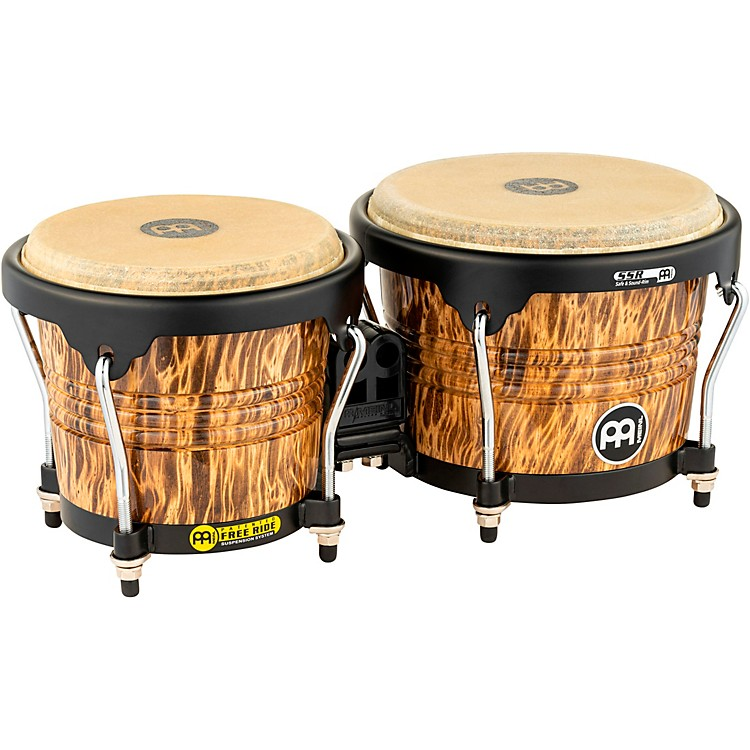 Meinl 30th Anniversary Edition Wood Bongo Leopard Burl