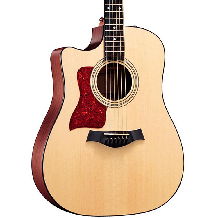 Taylor 310ce-L Sapele/Spruce Dreadnought Left-Handed Acoustic-Electric Guitar Natural