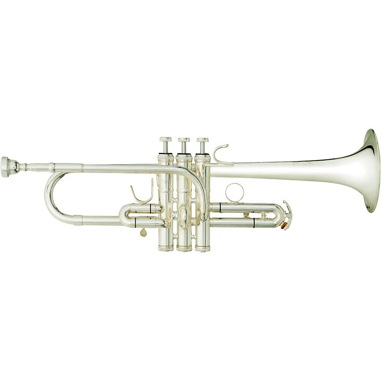 B&S 3116 Challenger II Series Eb/D Trumpet Silver