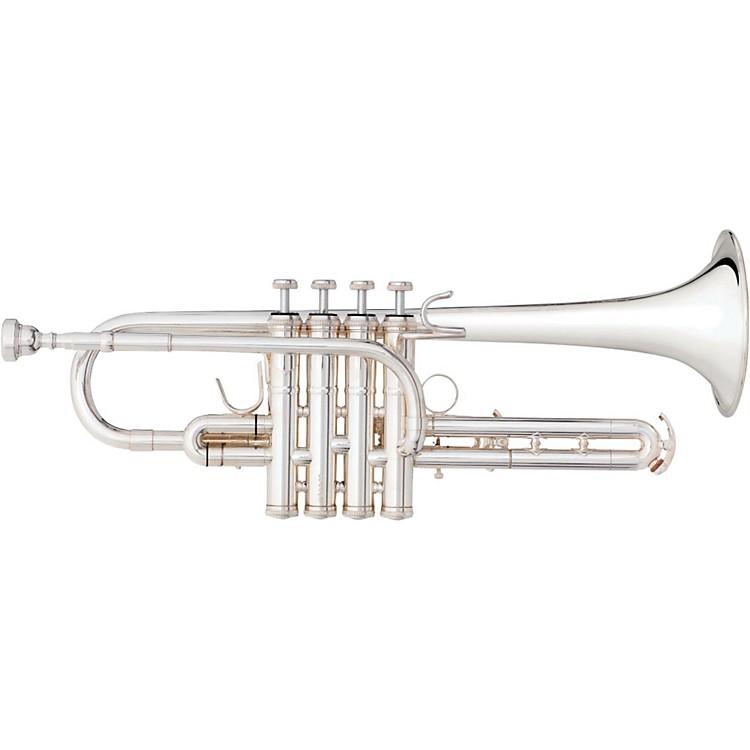 B&S3117JH Challenger II Custom Series Eb/E TrumpetSilver