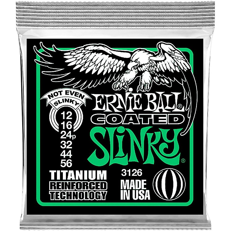 Ernie Ball3126 Coated Electric Not Even Slinky Guitar Strings