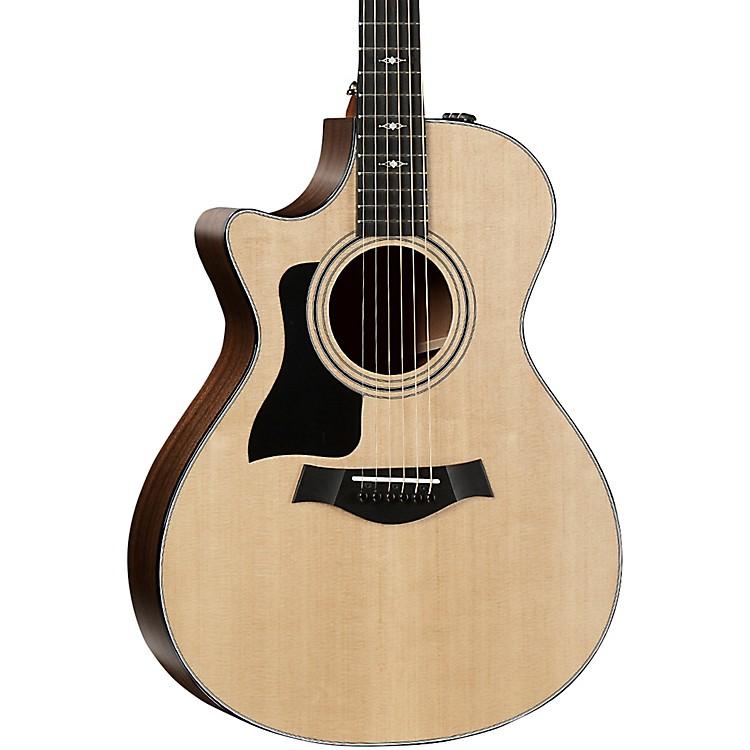 Taylor312ce V-Class Grand Concert Left-Handed Acoustic-Electric GuitarNatural