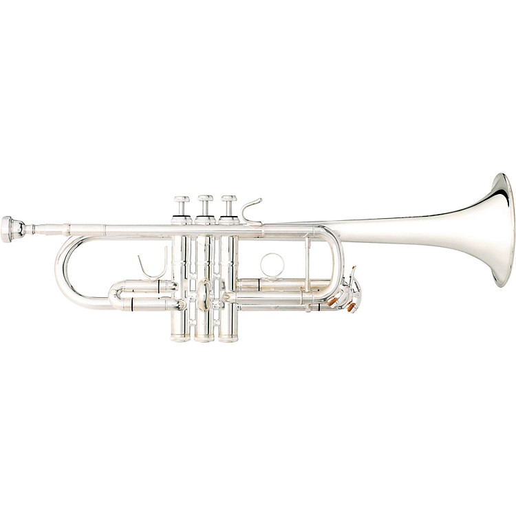 B&S 3136 Challenger C Trumpet Silver plated Yellow Brass Bell