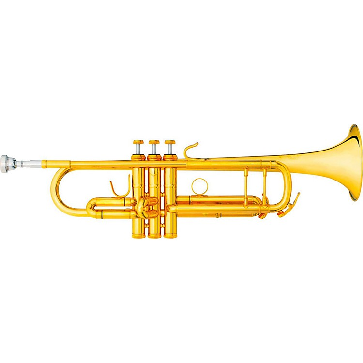 B&S 3137-GL Challenger I Series Bb Trumpet Gold Lacquer