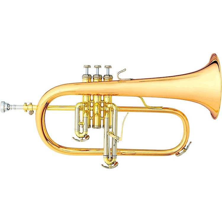 B&S 3145 Challenger I Series Bb Flugelhorn Gold Brass