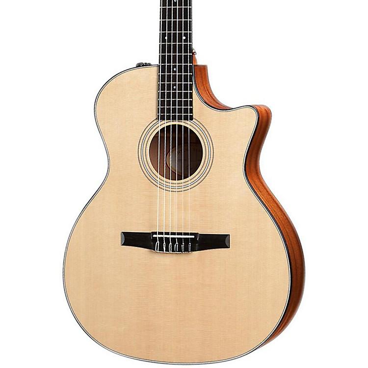 Taylor314ce-N Sapele/Spruce Nylon String Grand Auditorium Acoustic-Electric Guitar