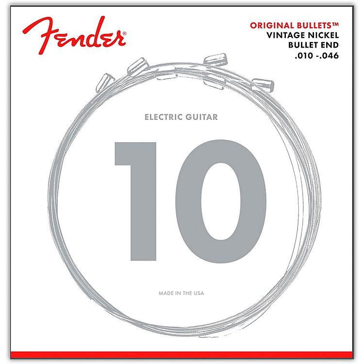 Fender3150R Original Bullets Pure Nickel Wound Electric Guitar Strings - Regular