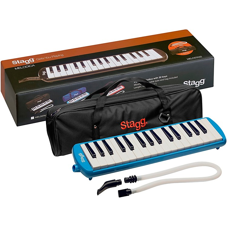 Stagg32 Key Melodica with Gig BagBlack