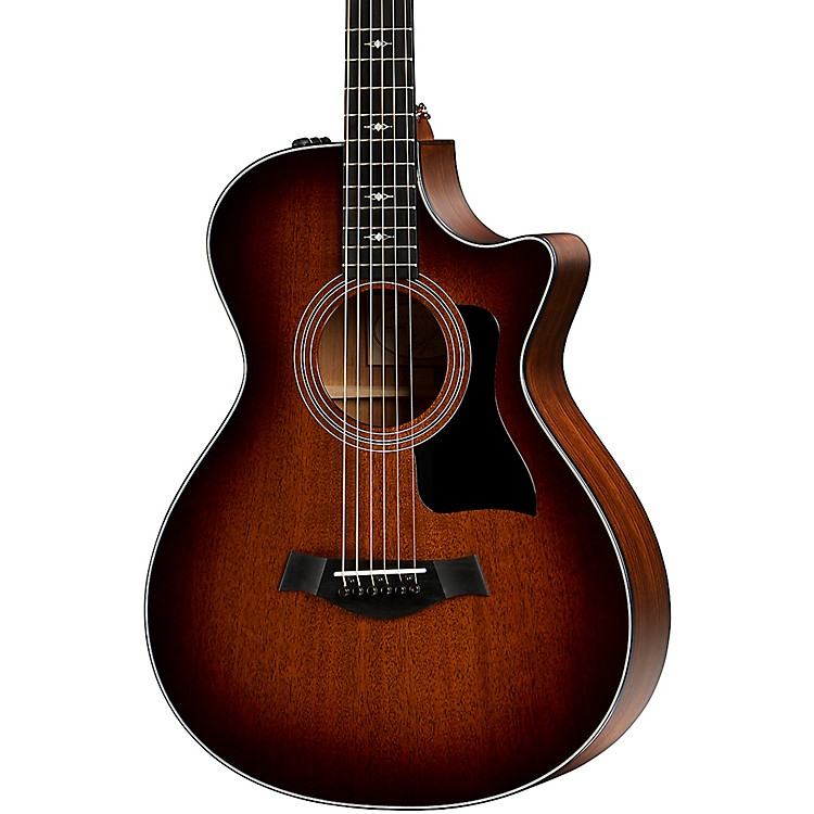 Taylor322ce 12-Fret Grand Concert Acoustic-Electric GuitarShaded Edge Burst