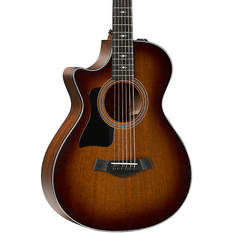 Taylor 322ce 12-Fret V-Class Grand Concert Left-Handed Acoustic-Electric Guitar Shaded Edge Burst