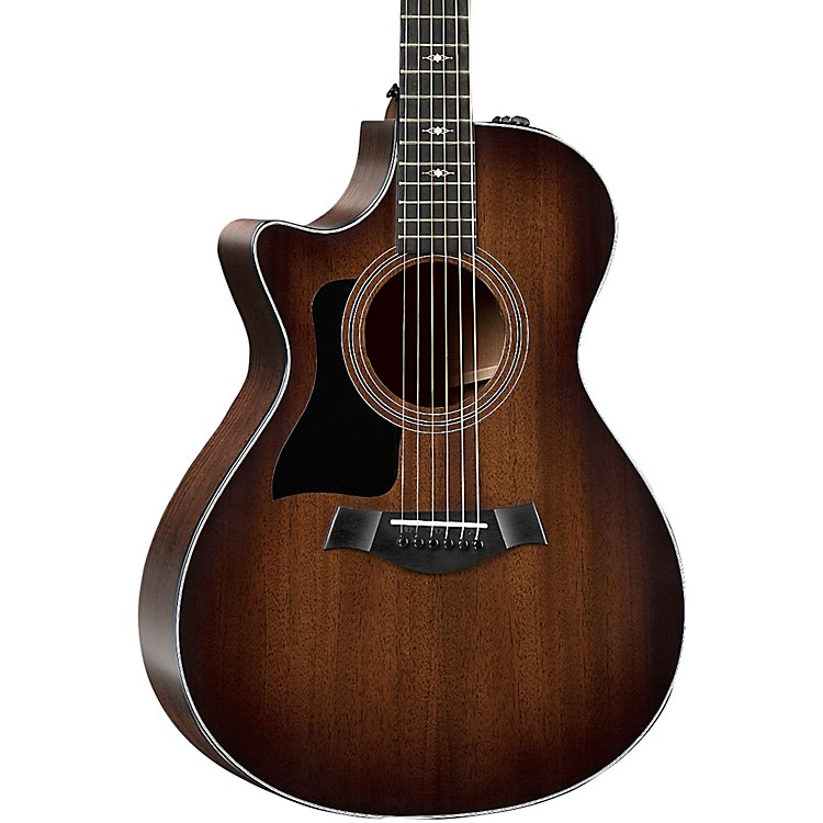 Taylor322ce V-Class Grand Concert Left-Handed Acoustic-Electric GuitarShaded Edge Burst