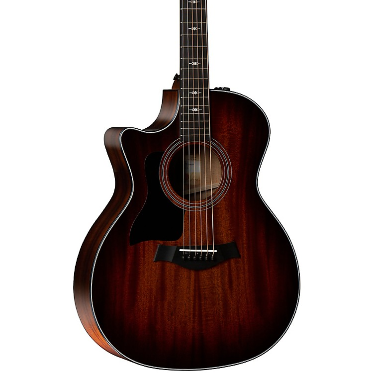 Taylor 324ce-LH V-Class Grand Auditorium Left-Handed Acoustic-Electric Guitar Shaded Edge Burst